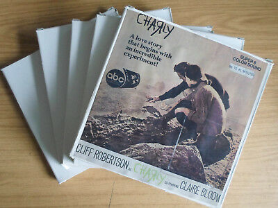 Super 8mm sound 5x400 CHARLY. Cliff Robertson, Claire Bloom drama.