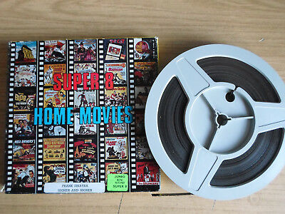 Super 8mm sound 1x400 HIGHER AND HIGHER. Frank Sinatra musical classic.