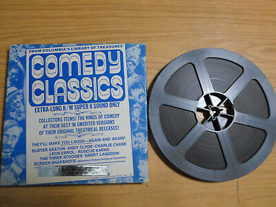 Super 8mm sound 1x400 IT AWAYS HAPPENS. Andy Clyde classic comedy.