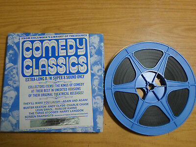 Super 8mm sound 1x400 ALIMONY ACHES. Andy Clyde classic comedy.