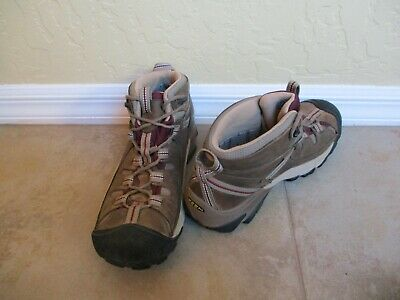 Keen Mens Brown Leather Hikers For Men Size 10.5 Eur 43.5