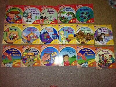 Oxford Reading Tree Songbirds Phonics by Julia Donaldson Stages 4-6 VGC 18 Books