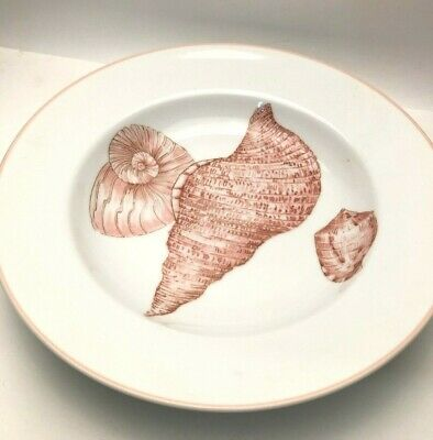 """Coquille by Fitz and Floyd large Soup Plate 9.25"""", different style"""