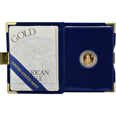 1999-W American Gold Eagle Proof (1/10 oz) $5 in OGP
