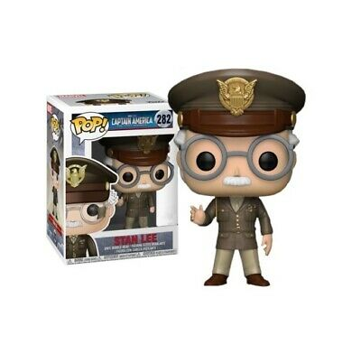 Funko Pop! Stan Lee - Captain America: The First Avenger Cameo #282 Exclusive