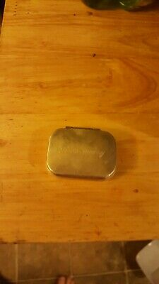 Tiffany & CO. Sterling Silver Pill Box  Vintage