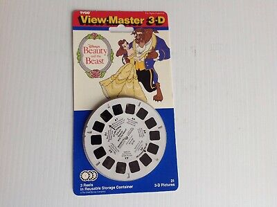 TYCO 1991 VIEW-MASTER 3-D Sesame Street Vists the Zoo Sealed