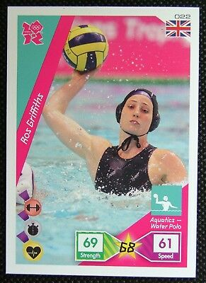 Ros Griffiths 022* Adrenalyn XL Panini London Olympic 2012 Card