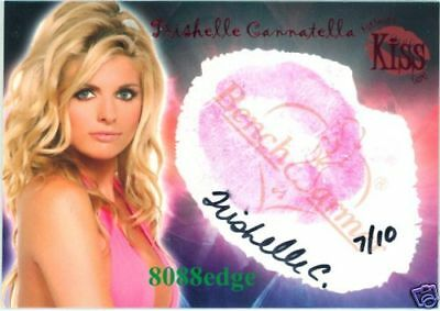 "2006 Benchwarmer Kiss Auto: Trishelle Cannatella #7/10 Autograph""The Real World"""