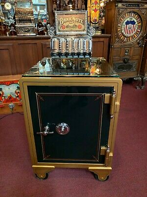 "1800's Safe Fully Restored ""Ready For Your Custom Graphics"" ""Watch Video"""
