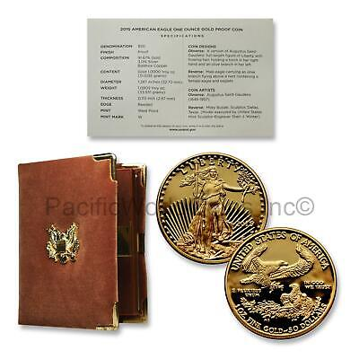 USA 2015 American Eagle 1 oz Gold Proof with Box & COA SKU#7155