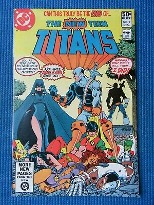 Teen Titans # 2 - (Nm) - High Grade - 1St App Of Deathstroke The Terminator