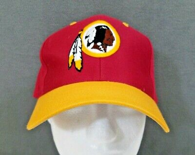 3f01abf99ca Vintage Washington Redskins Throwback Logo NFL Cap OSFA Embroiderd Snapback