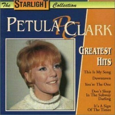 Petula Clark: Greatest Hits – 13 Track Cd, Best Of, The Starlight Collection