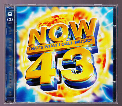 Various Artists : Now Thats What I Call Music! Vol. 43 CD VG Album 2 Disc
