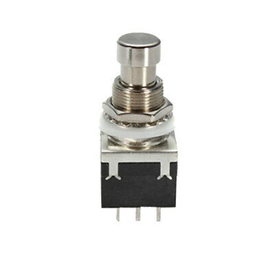 3PDT 9 Pins Box Stomp Guitar Effect Pedal Foot Switch True Bypass Metal Sales