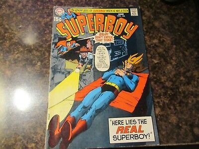 SUPERBOY #166 (DC, 1970) Neal Adams cover.