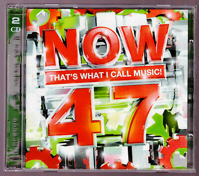 Now Thats What I Call Music 47- 2 Disc CD Album