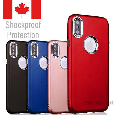 Silicone slim case For iPhone XR - Shockproof Hybrid Protective Cover