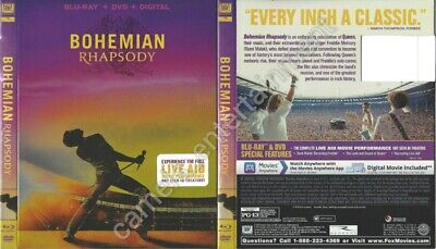 Bohemian Rhapsody (Blu-ray SLIPCOVER ONLY * SLIPCOVER ONLY)