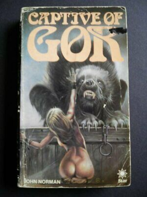 CAPTIVE OF GOR . GOR #7 by JOHN NORMAN Book The Cheap Fast Free Post