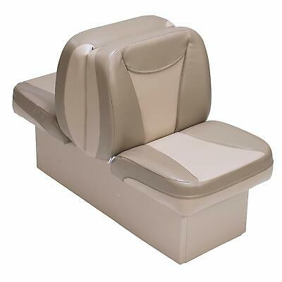 BOAT SEAT BACK To Back Premium Tan & Beige Lounger UV Treated Boating Seats  New