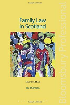 Family Law in Scotland by Joe Thomson Book The Cheap Fast Free Post