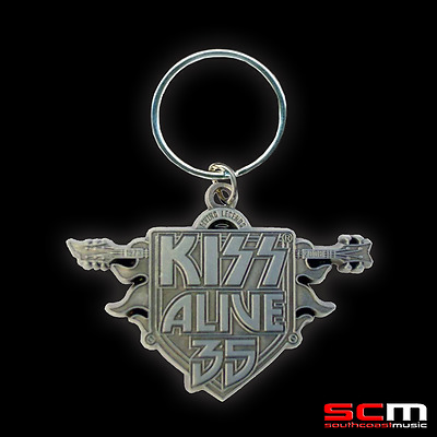 Kiss Alive 35 Official Tour Key Ring Licensed Merchandise Keyring Free P+H
