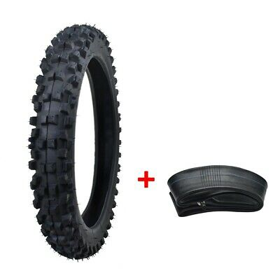 60/100-14 Front Tire Tyre+ Tube for Dirt Pit Bike PW80 CRF70 KLX110 CRF110F