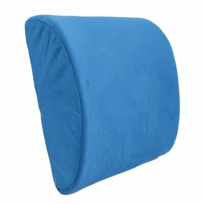 Soft Memory Breathable Healthcare Lumbar Cushion Back Waist Support Pil C〡