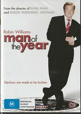 Man Of The Year - Robin Williams -  New & Sealed Region 4 Dvd