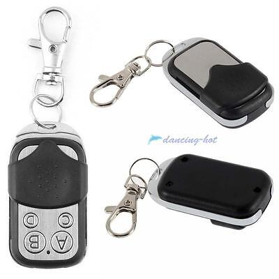 2x Universal Cloning Remote Control Key Fob for Car Garage Door Electric Gate UP