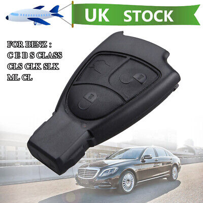 REMOTE KEY FOB CASE SHELL 3 BUTTON Fit For MERCEDES BENZ ML SLK CLK C B E S
