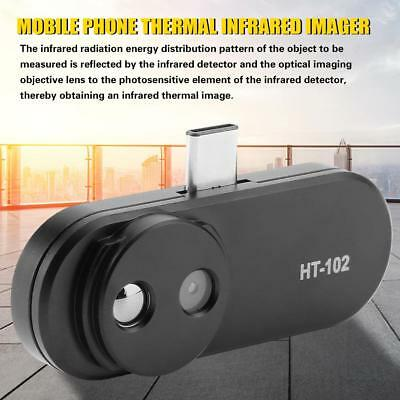 HT-102 Black USB Mobile Phone Infrared Camera Thermal Imager for Android Phones