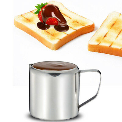 Durable Spout Pitcher Milk Jug Stainless Steel Cream Frothing Coffee Latte New