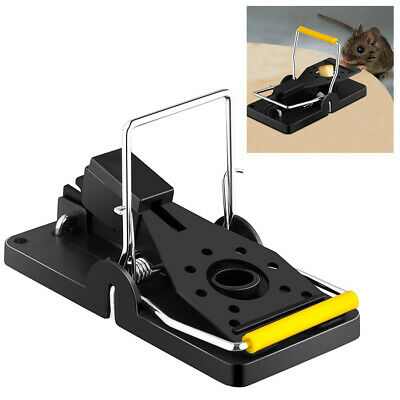 Spring Rat Mouse Trap Rodent Pest Control Easy Bait Traps Catcher Killer Cheese