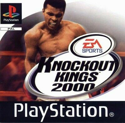 PS1 / Sony Playstation 1 - Box Champions / Knockout Kings 2000 mit OVP NEUWERTIG