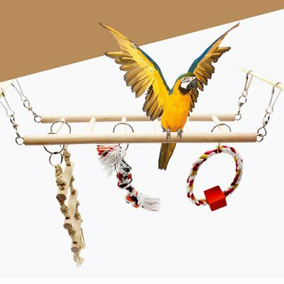 Birdfun Toy Hanging Ladder Bridge Parrot'S Cage Stand Bar Pet Toy Accessories CY
