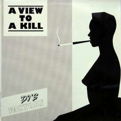 "DJ's Factory - A View To A Kill (12"") Vinyl Schallplatte - 148834"