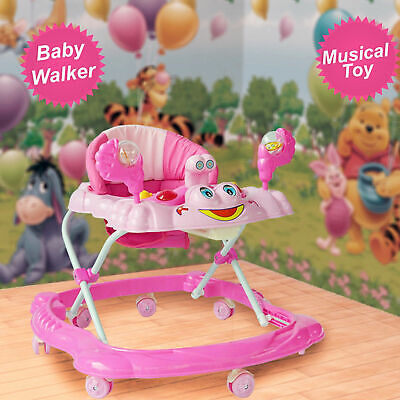 Push Along Ride On Bouncer Baby Walker Top Quality Activity Musical toy Melody