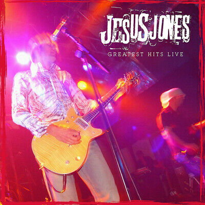"Jesus Jones : Greatest Hits Live VINYL 12"" Album (2019) ***NEW*** Amazing Value"