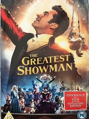 The Greatest Showman Hugh Jackman, Zac Effron, Rebecca Fergusson 2018 Movie DVD