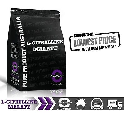 1Kg  Pure L Citrulline Malate Powder | Pharmaceutical Grade