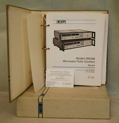 EIP 585/588 Microwave Pulse Counter Service Manual