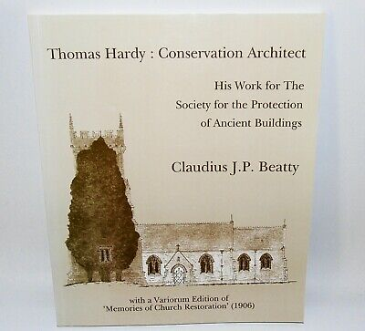 Thomas Hardy Conservation Architect Society For Protection Of Ancient Buildings