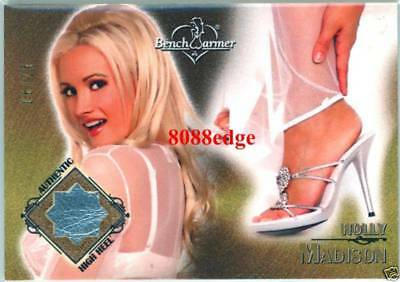 2007 Benchwarmer High Heel Swatch: Holly Madison #6/25 Worn Shoe Patch Playboy