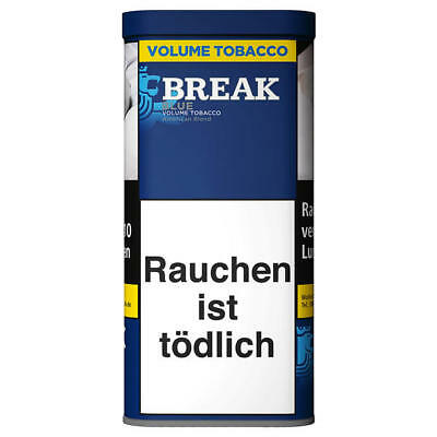 3 x 130g   Break Blau Volumentabak Dose / Break Volume Tobacco