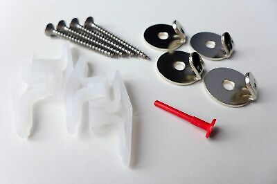 Plasterboard Hanging Kit for Pictures and Mirrors - Pack of 4 - Heavy Duty