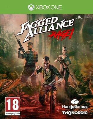 Jagged Alliance Rage! Xbox One * NEW SEALED PAL *