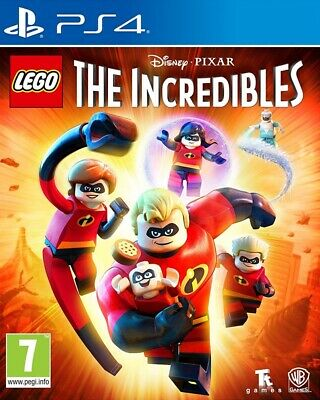 LEGO The Incredibles PS4 * NEW SEALED PAL *